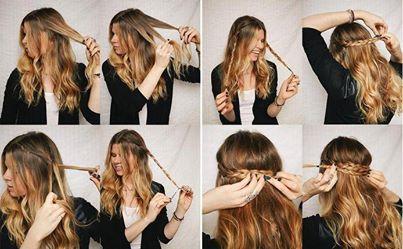 enkla håruppsättningar till vardags